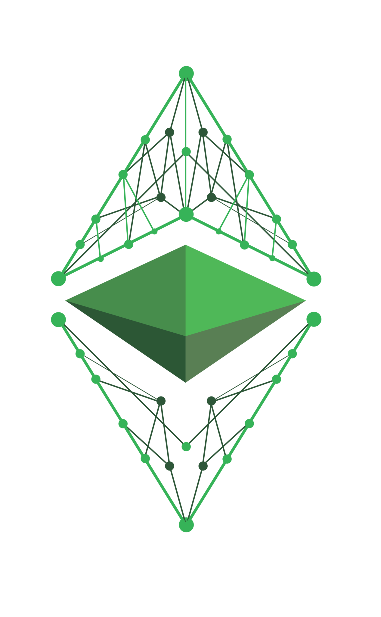 ETHEREUM logo klasik crypto trading iq option